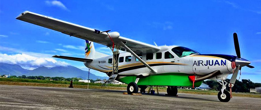 Air Juan_Chartered Plane_Marinduque Flight